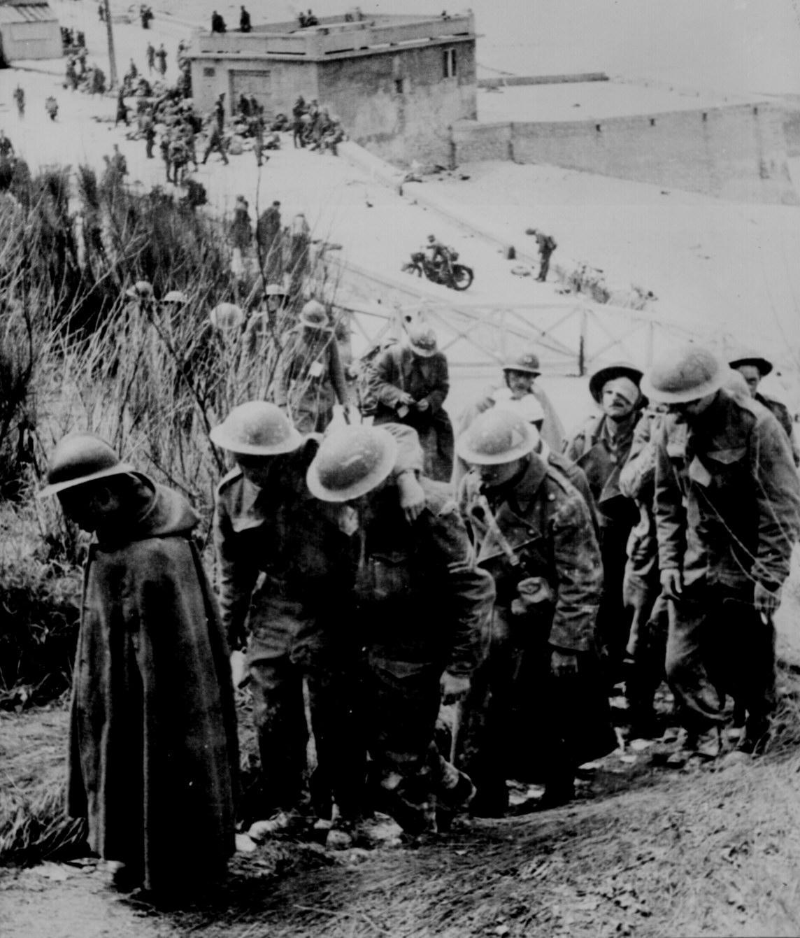 British Prisoners Of War At Dunkerque France