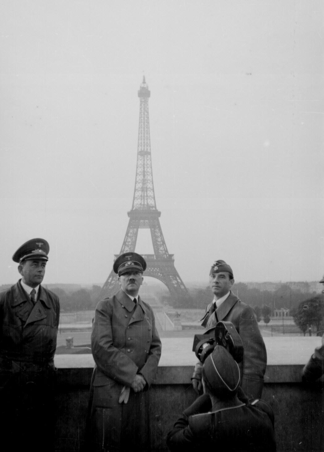 Adolf Hitler In Paris France