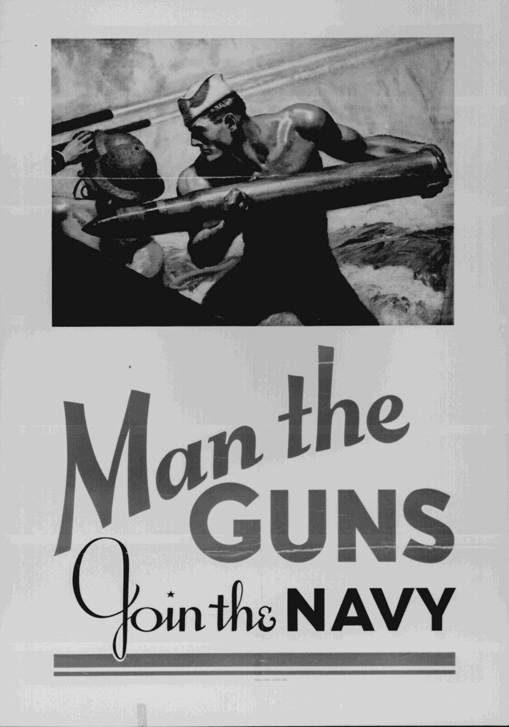 World War Ii Navy Recruitment Poster