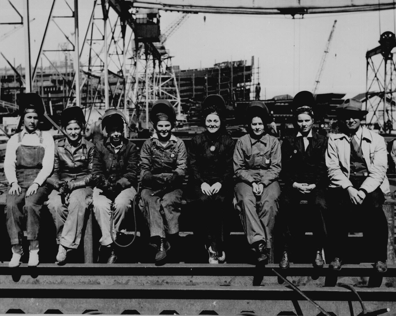 Women Welders In World War Ii