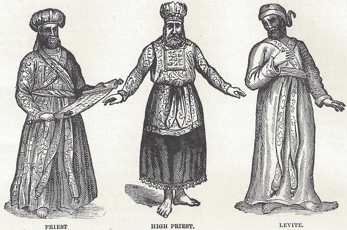 Israelite Priest High Priest And Levite
