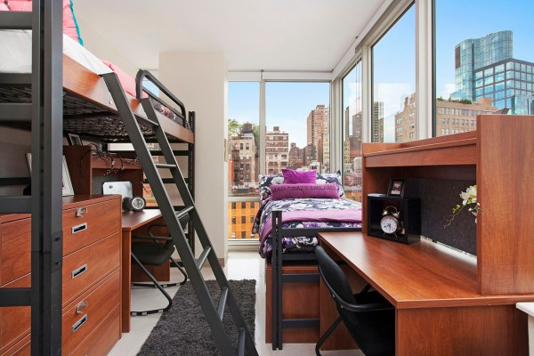 New York University College Dorm Rooms