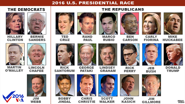 presidential candidates 2016 usa