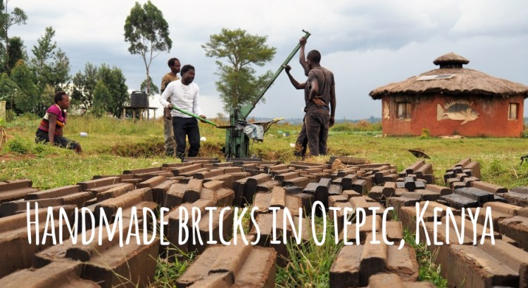 Handmade bricks in Otepic