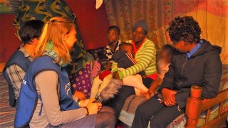 Interviews in Southlands Slum