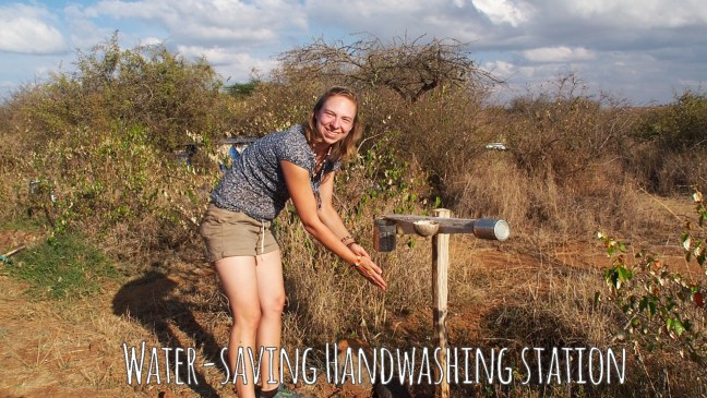 Handwashing Station in Sadhana Forest, Kenya
