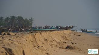 Local fishermen in Gulf of Bengal