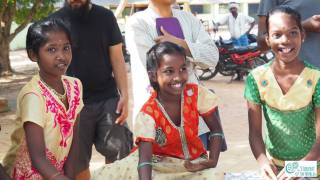 Nadukuppam kids during their pottery art class