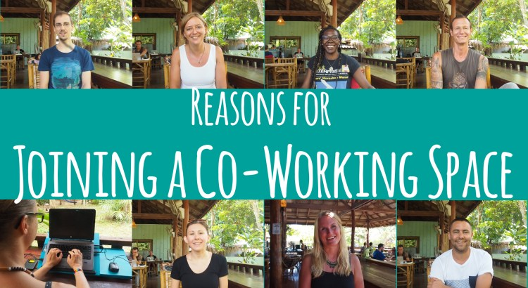 Reasons for Co-Working Space