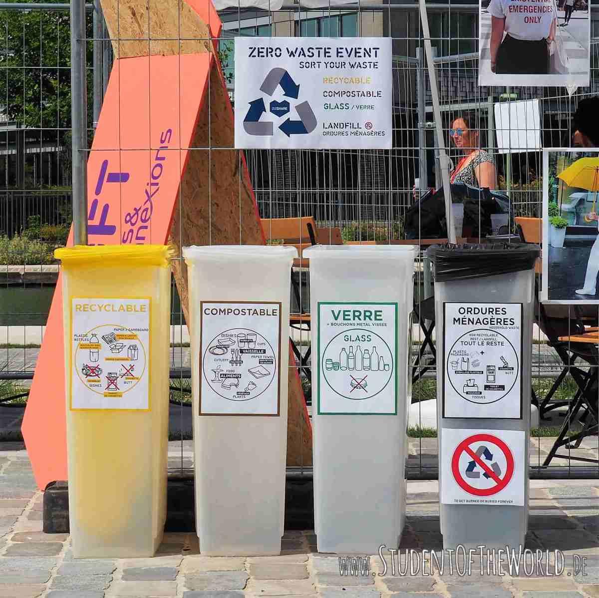 OuishareFest 2017 aimed at zero waste.