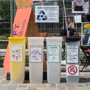 OuishareFest 2017 aimed at zero waste.