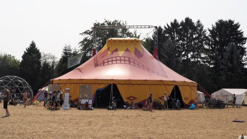 gathering tent