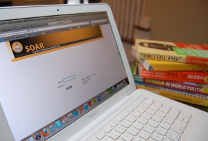 Students use their online account, Soar, to take a glimpse of their school tuition for the upcoming year.  Rising tuition prices leads Southern Miss students worrying about the future. Susan Broadbridge/Printz