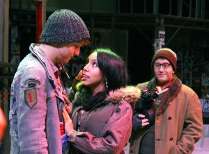 "Cast members pose for a scene from this season's opening production, ""Rent."" Zachary Odom/Printz"
