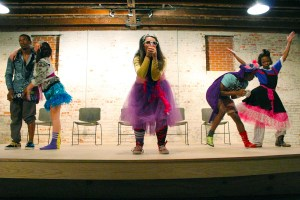"""The USM Repertory Dance Company performs """"Mark'd in Time"""" Wednesday night at the Thirsty Hippo. Kara Davidson/Printz"""