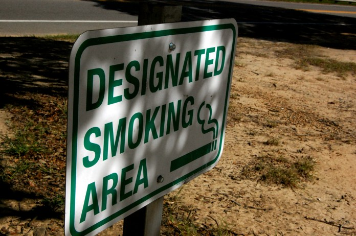 The Student Government Association is beginning an initiative to make Southern Miss's campus completely smoke free by 2016. Currently, there are specific spots on campus where students are allowed to smoke.  -Mary Sergeant