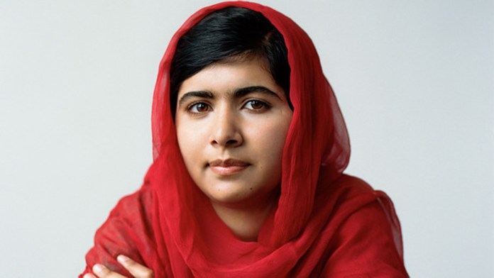 Malala Yousufzai wins the Nobel Peace Prize for her efforts as a Pakistani activist for female education. -Courtesy Photo