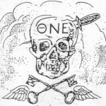One of the first symbols for the Machine, otherwise known as the former Alpha Rho chapter of Theta Nu Epsilon fraternity, depicts a skull and keys. Independent, non-Machine students have battled Machine dominance of SGA since the 1940s.
