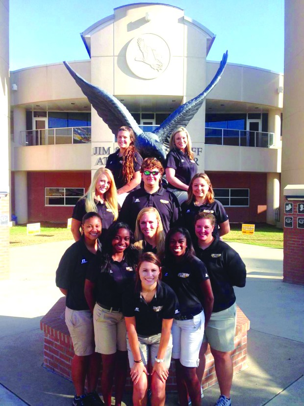 athletic training students class of 2015CMYK