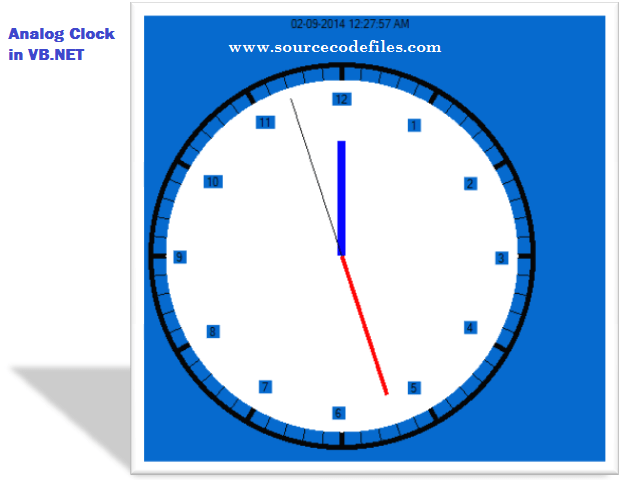 Analog Clock in VB.NET