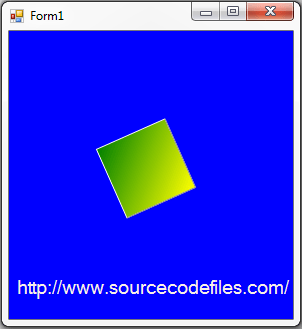 rotation of rectangle