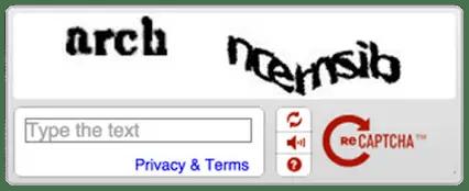 CAPTCHA for SPAM Prevention