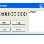vb.net stopwatch