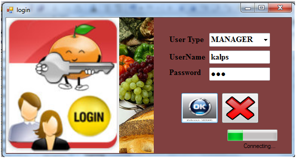 gym management system login page