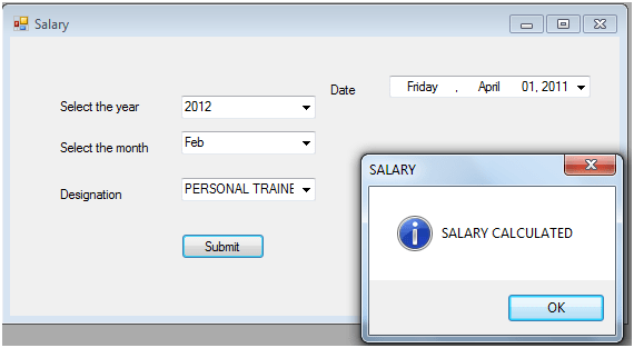 salary gym management system