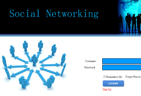 Social Networking Database Tables