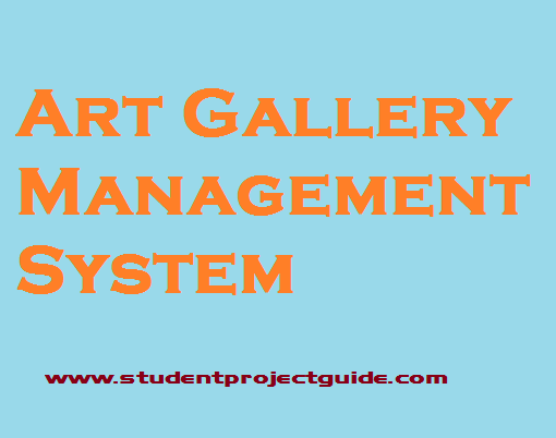 Art Gallery Management System