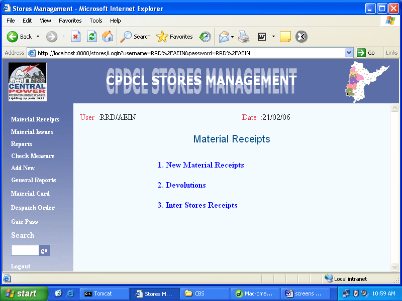 Stores Management System Project Synopsis