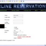 Web based Airline Reservation System