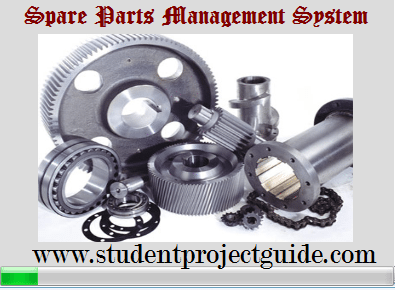 Spare Parts Inventory System