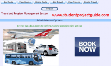 Tours Travel Management System