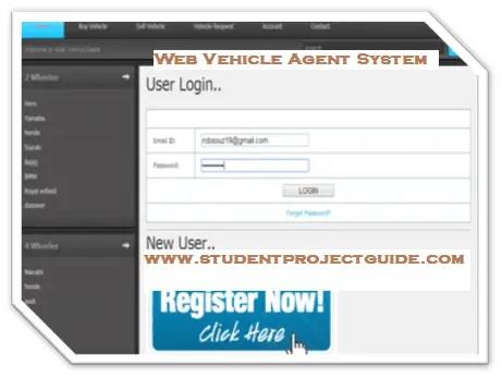 Web Vehicle Agent System