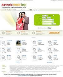 Matrimonial Website Script