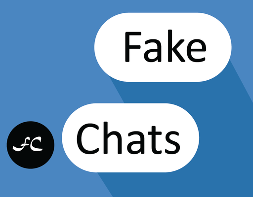 Funny fake chat app