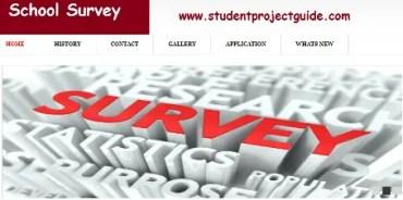 School Survey Project