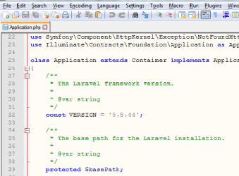 How to check laravel current version?