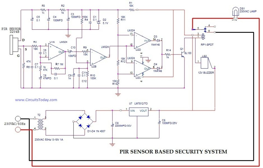 Wireless Security System Using PIR Sensors