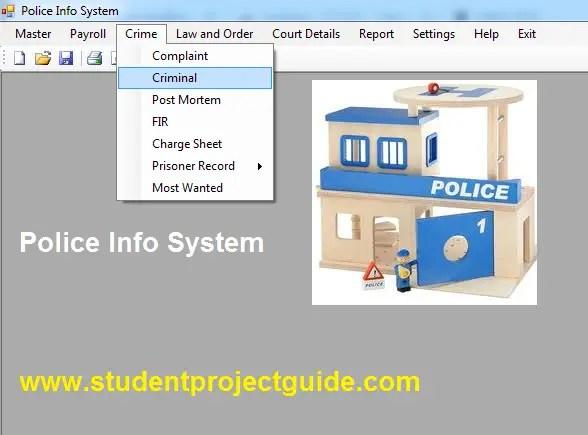 Police Info System