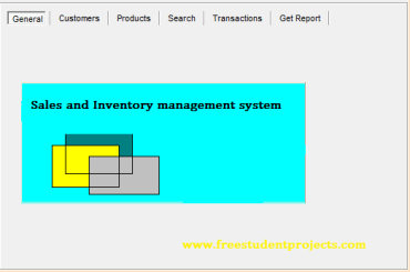 Sales and Inventory management system