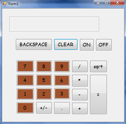 simple calculater