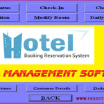 Mini Hotel Management Software