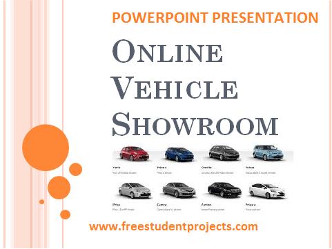 Online Vehicle Showroom ppt