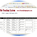 file tracking system icon