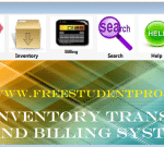 Inventory transaction and Billing system