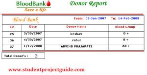 Blood Bank Software