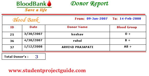 Blood Bank Software